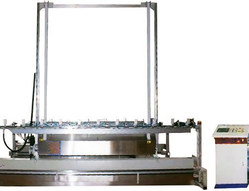 SA-VC3236 Auto Vertical Curtain Cutting Machine