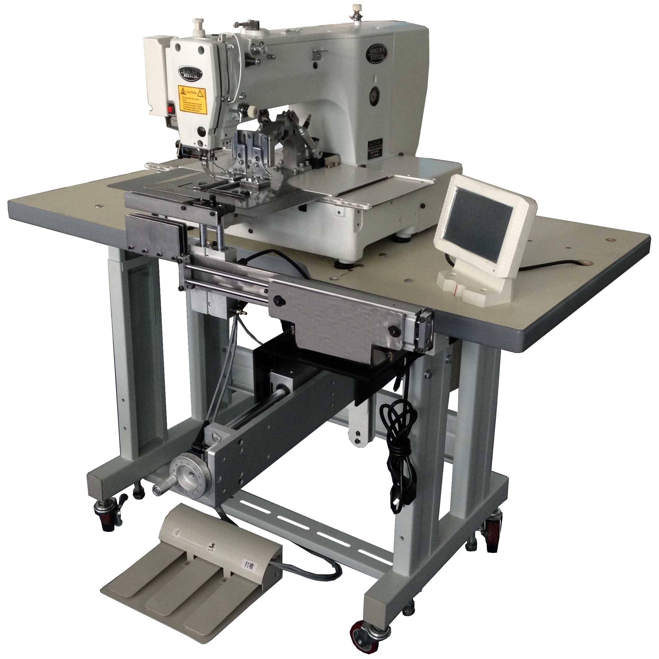 Auto Curtain Pinch Pleating Machine