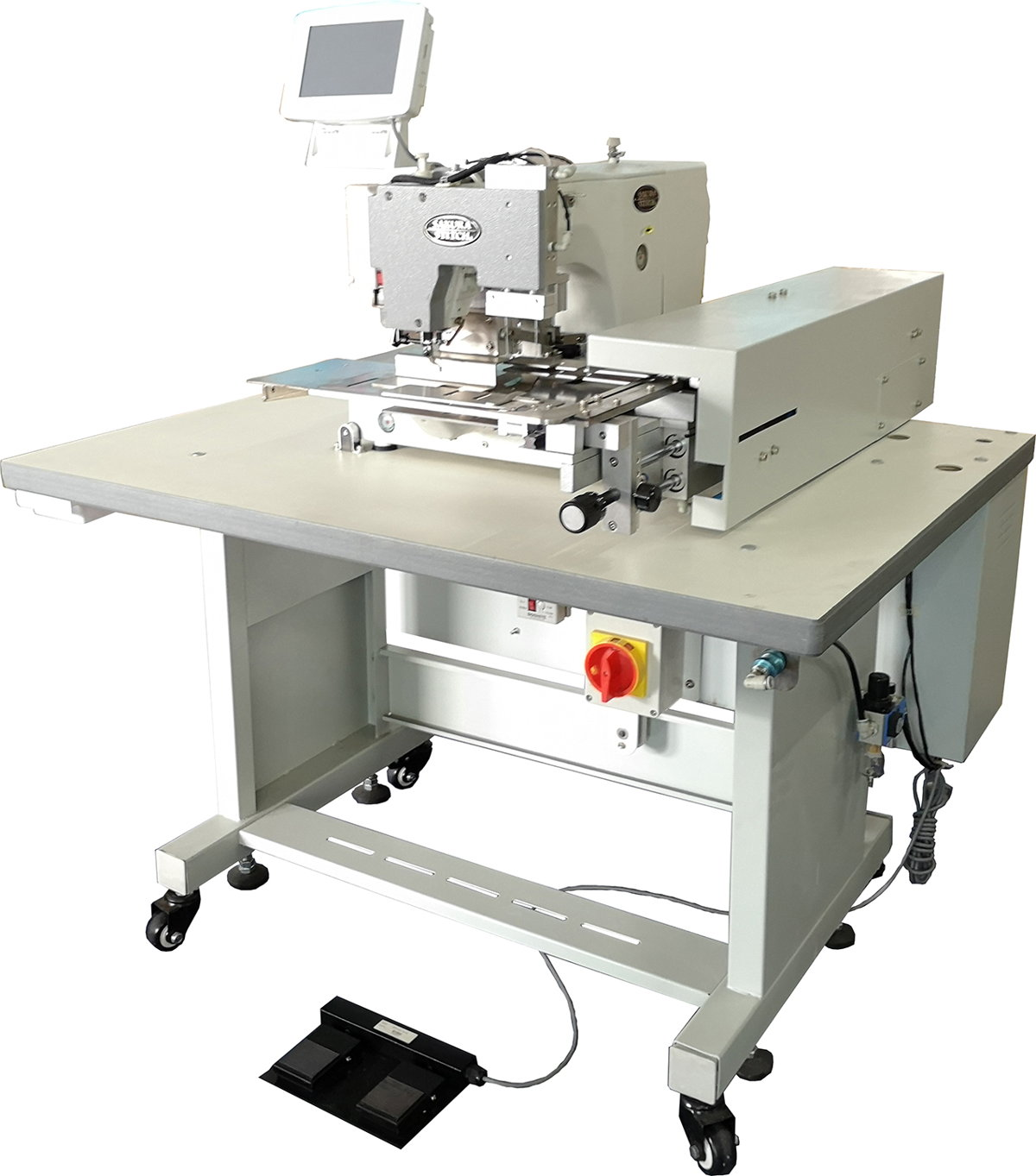Auto Curtain Pinch Pleating Machine with (Auto Feed)