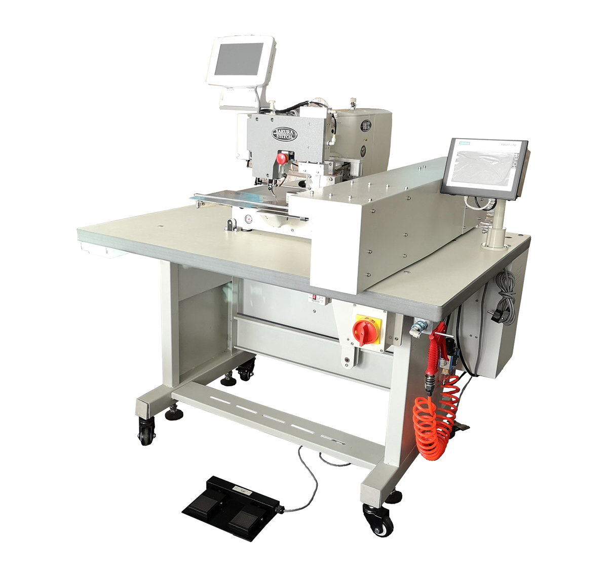 Auto Curtain Pinch Pleating Machine with (Auto Feed and Auto Pleat Calculation Module)