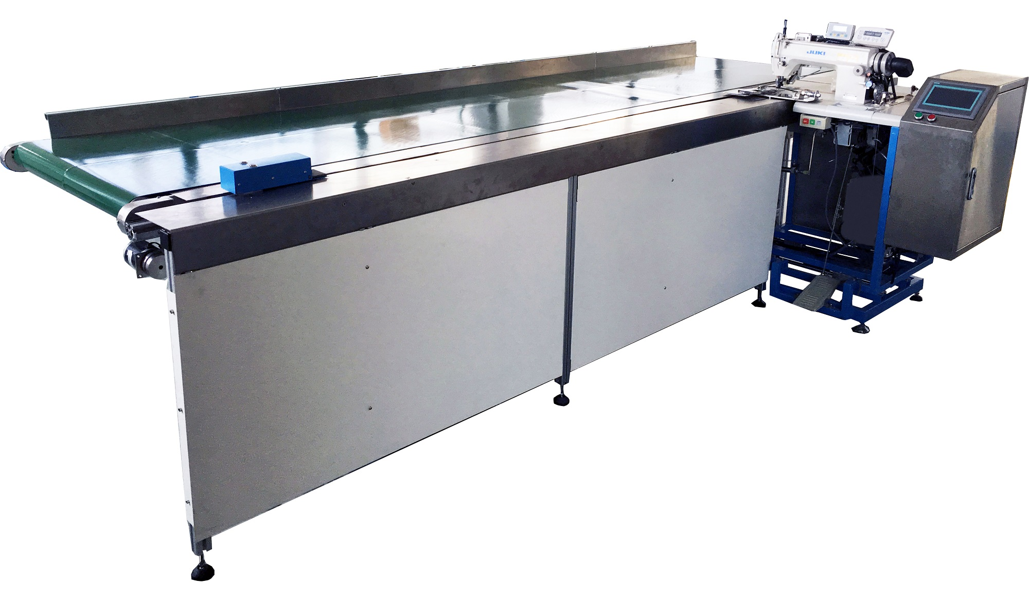 Automatic Curtain Hemming Machine With Rear Fabric Clamp