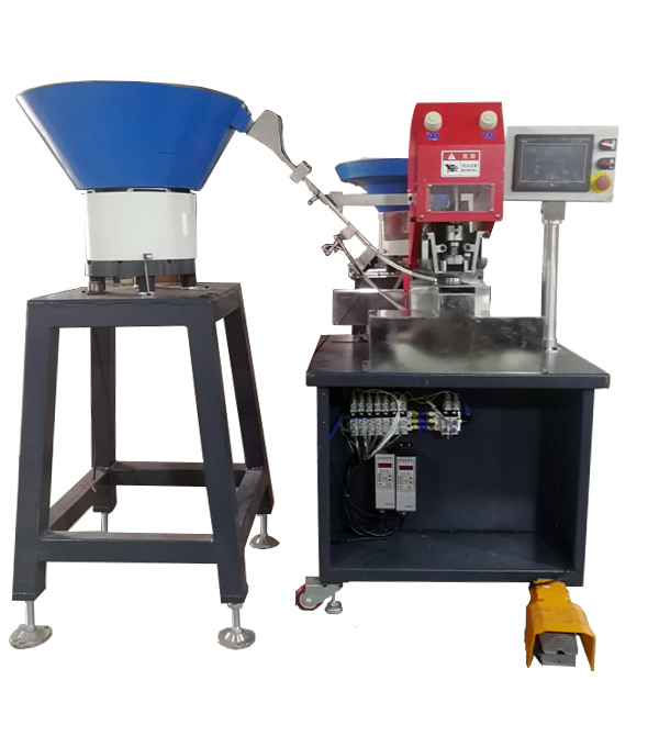 Fully Auto Snap Attaching Machine